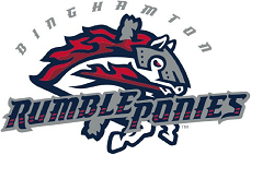 The Logo for Binghamton Rumble Ponies