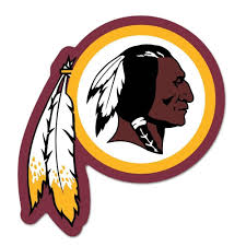 The Logo for the Washington Redskins of the National Football League, trademarked.