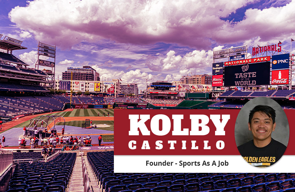 Industry Insights: Working for Sports As a Job with Kolby Castillo