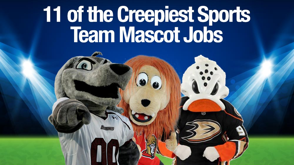 11 of the Creepiest Sports Team Mascot Jobs